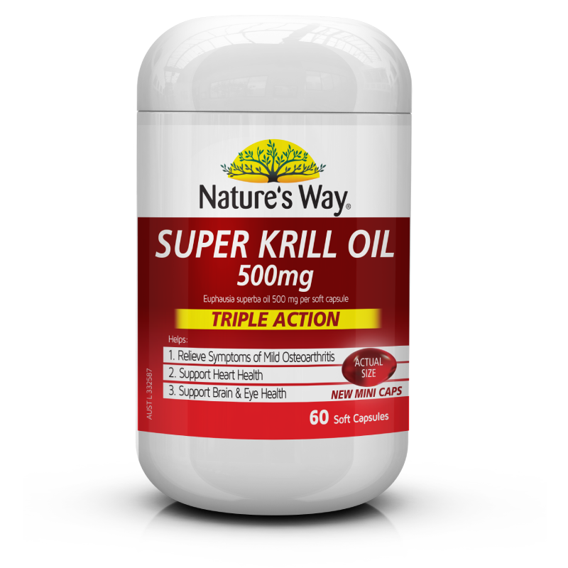 Nature's Way Super Krill Oil 500mg 60s