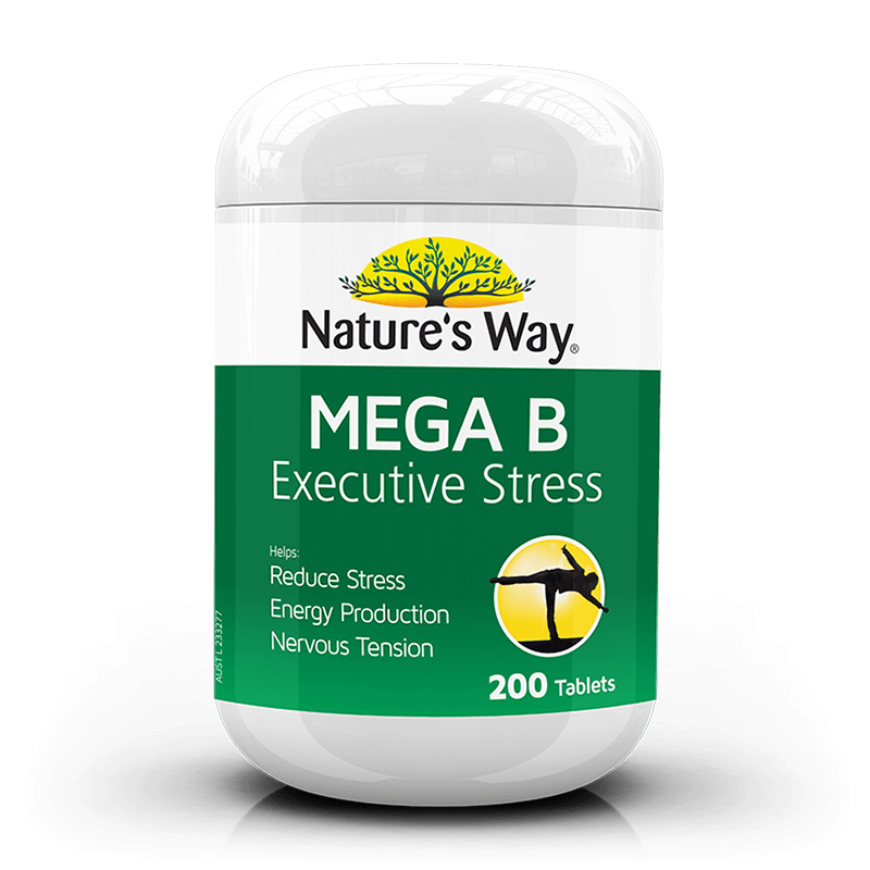 Natures Way Mega B Executive Stress 200s
