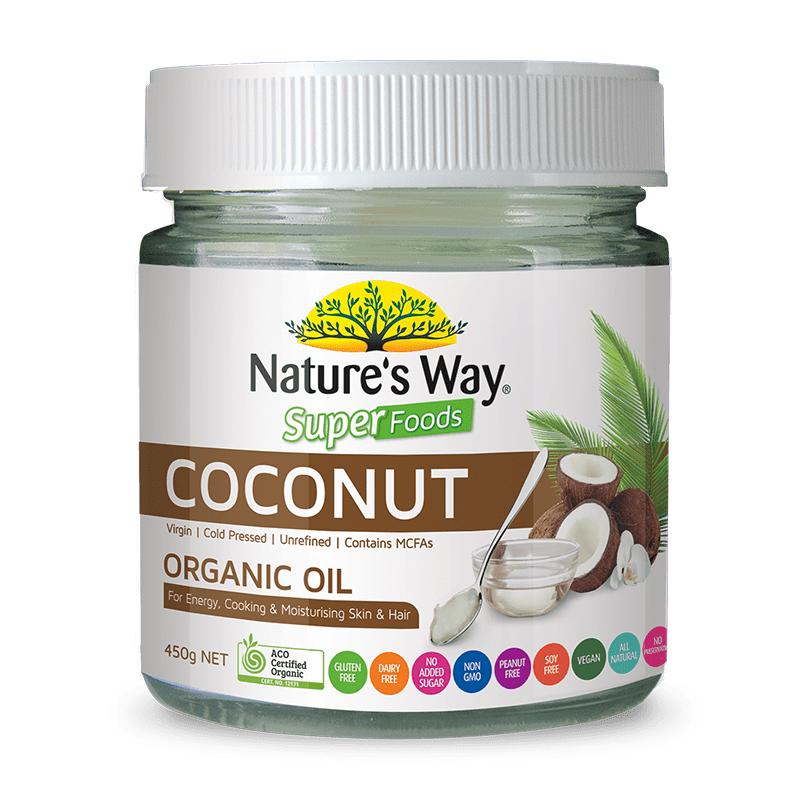 Nature's Way SUPERFOODS COCONUT OIL 450g