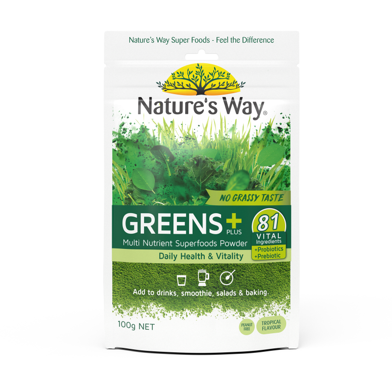 Nature's Way Greens Plus 100g