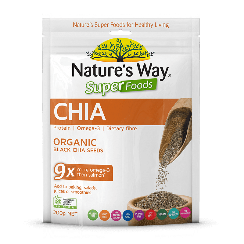 Nature's Way SUPERFOODS CHIA SEEDS 200g
