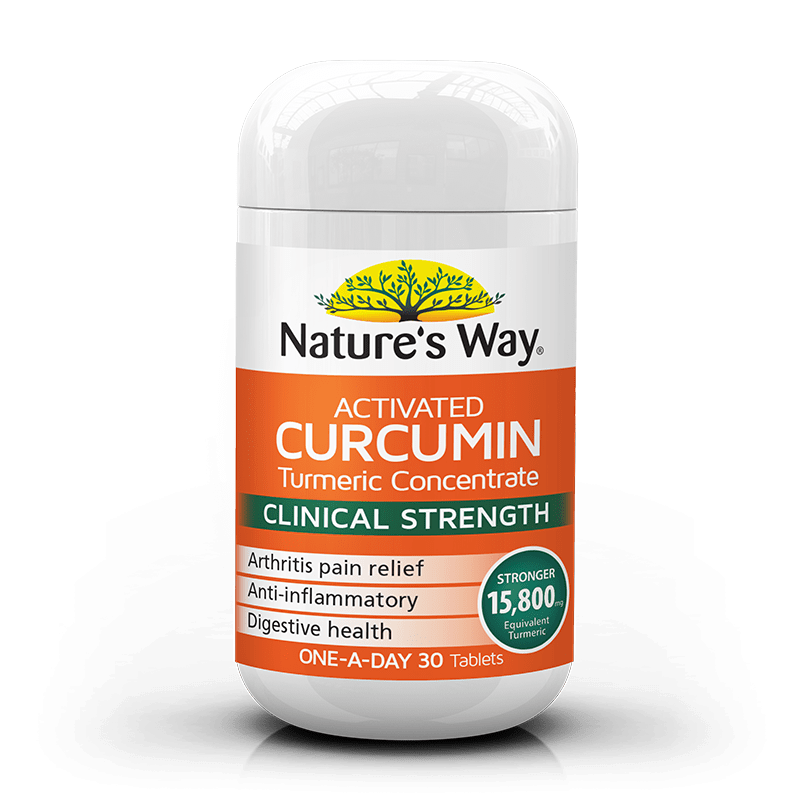 Natures Way activated curcumin 30s