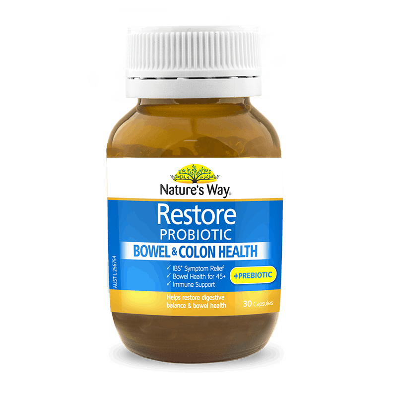 NW RESTORE PROBIOTIC BOWEL & COLON HEALTH 30s