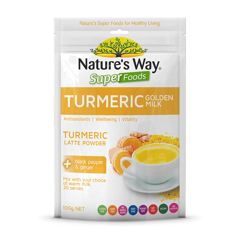 Nature's Way TURMERIC GOLDEN MILK 100g