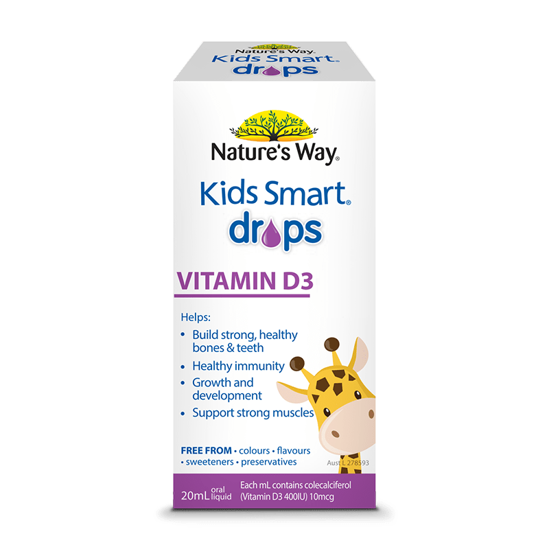 523028 kids smart drops vitamin d3 20ml