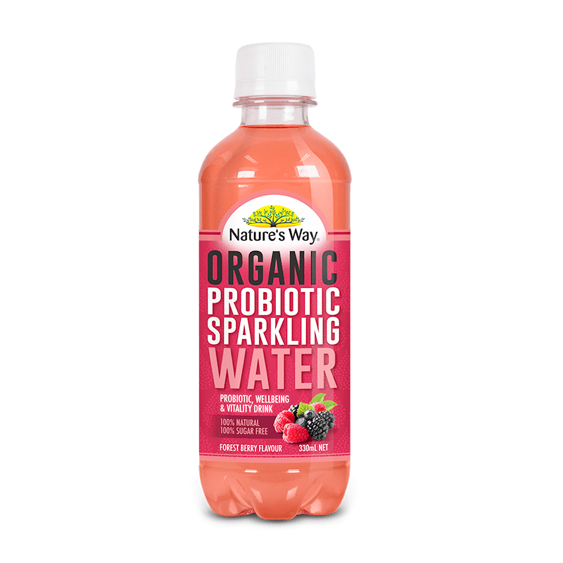 NATURE'S WAY PROBIOTIC SPARKLING WATER BERRY 330ml