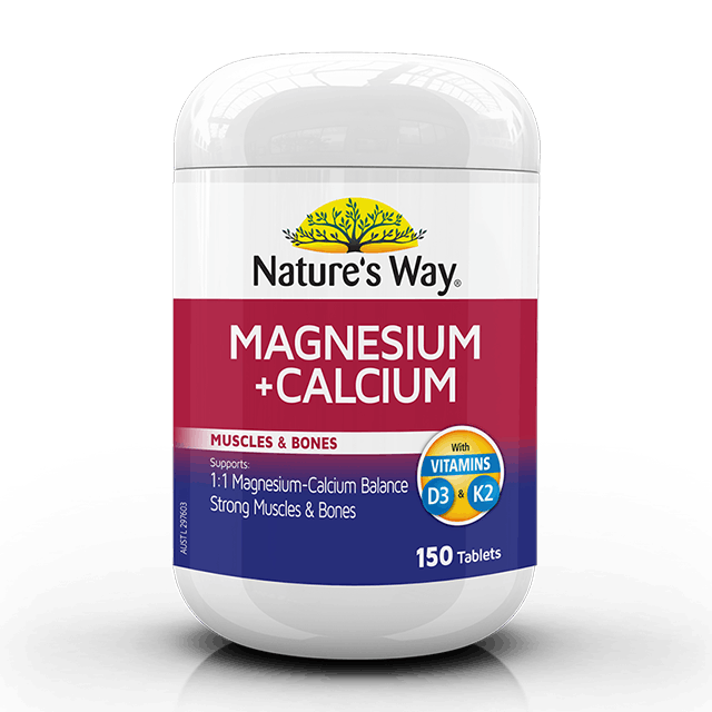 Nature's Way Magnesium + Calcium 150