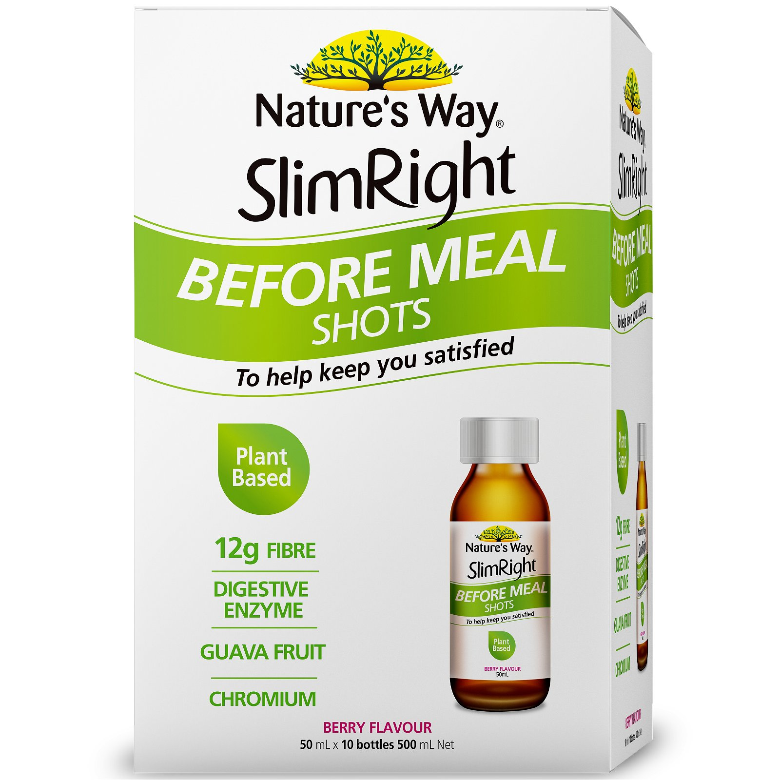 SlimRight Before Meal Shots 10x 50ml