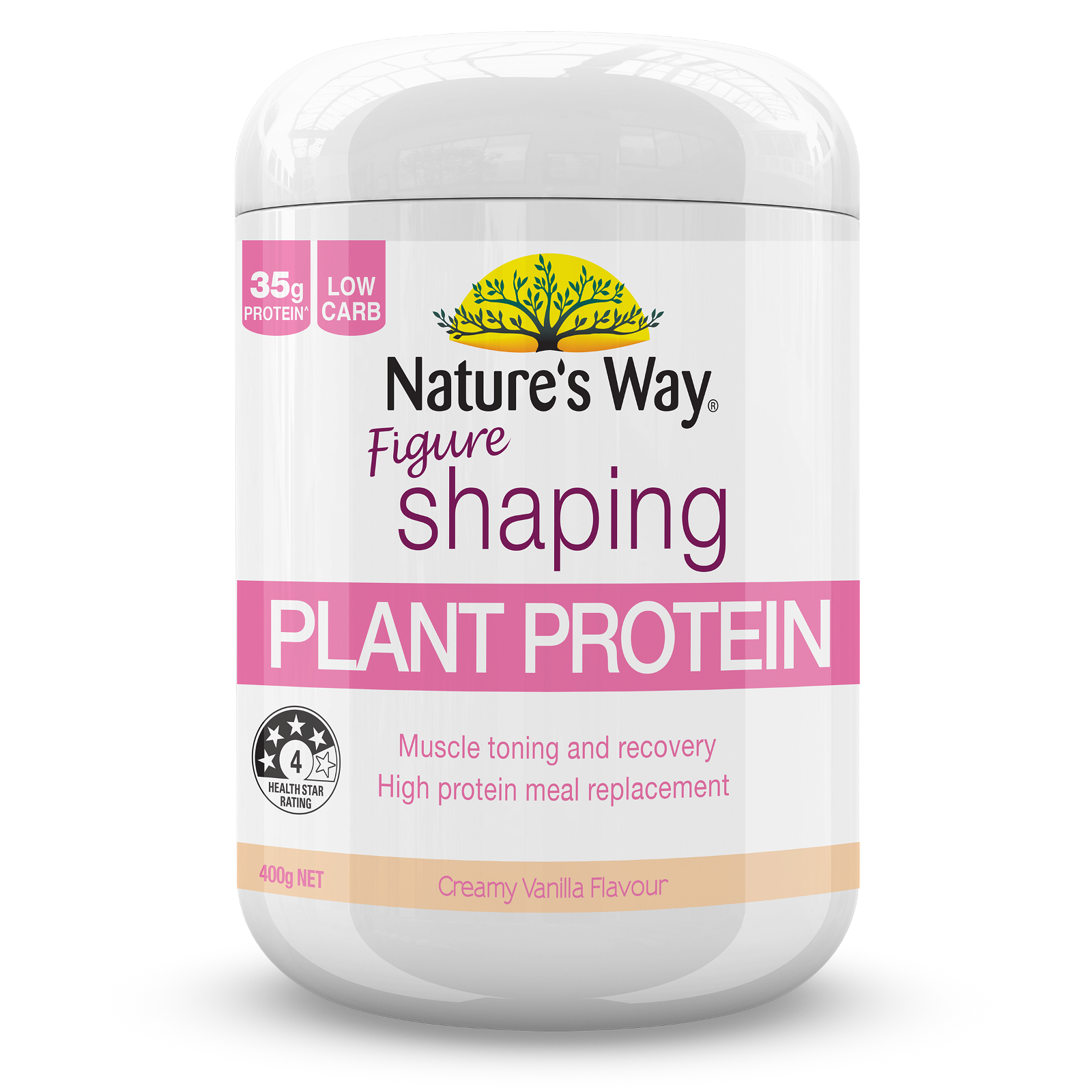 Instant Natural Protein Figure Shaping Vanilla 400g