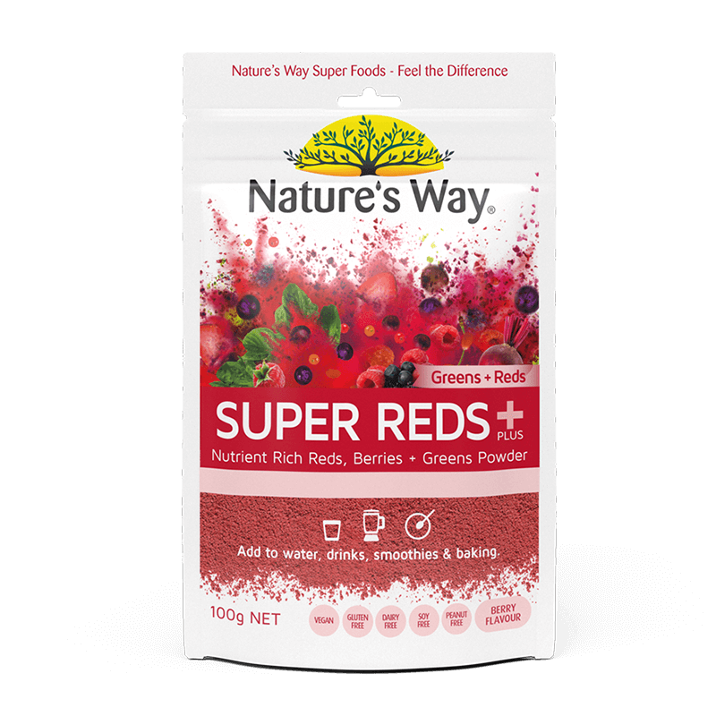 Nature's Way SUPER REDS 100G (GREENS +REDS)