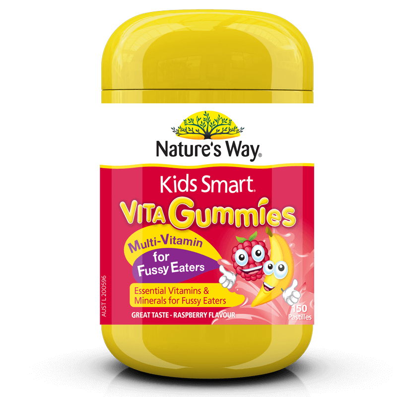 Nature's Way KIDS SMART MULTI-VITAMIN FOR FUSSY EATERS 150s