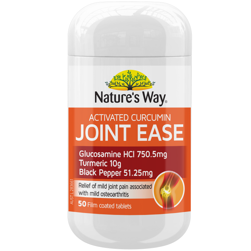 Nature's Way Activated Curcumin Joint Ease 50s