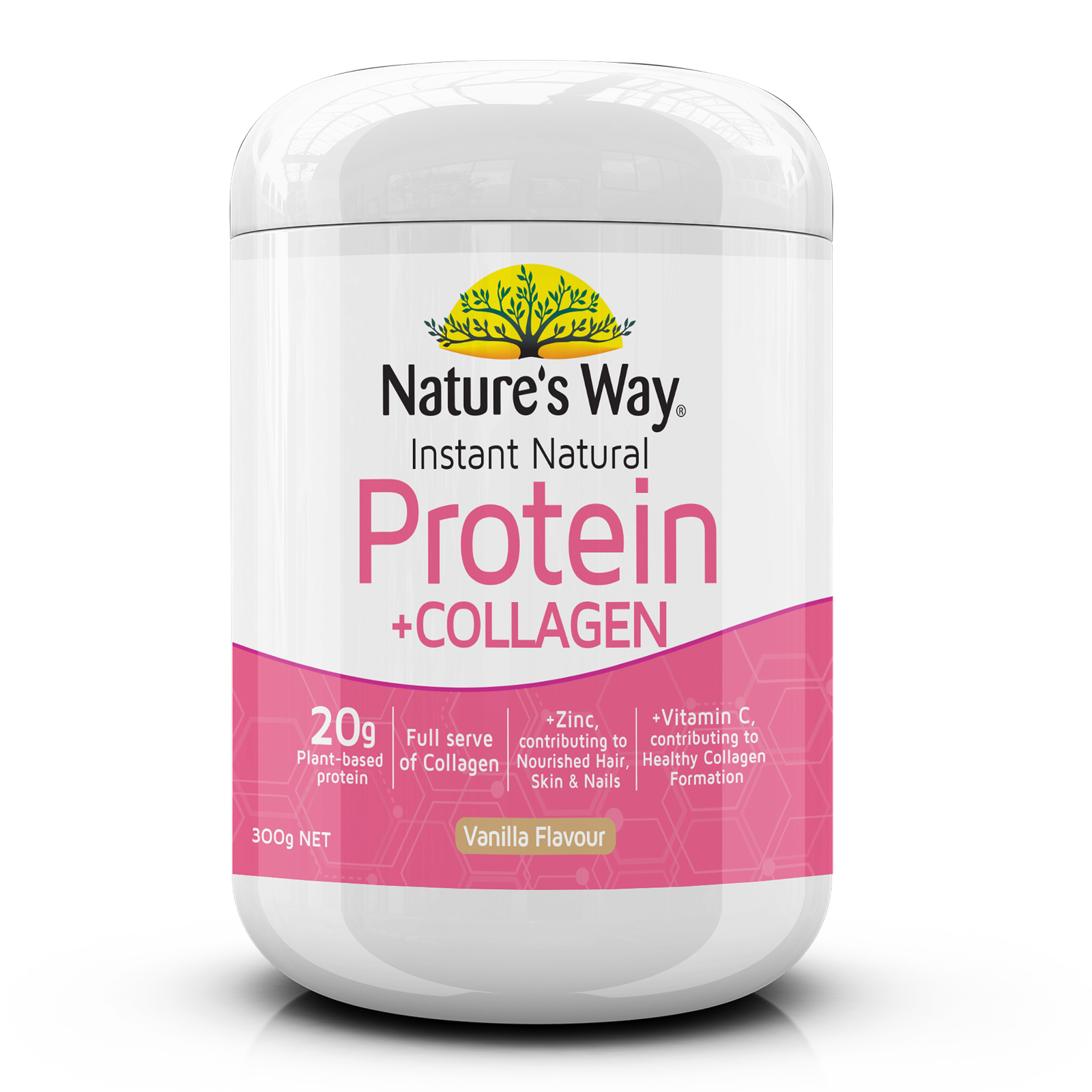 Instant Natural Protein + Collagen 300g