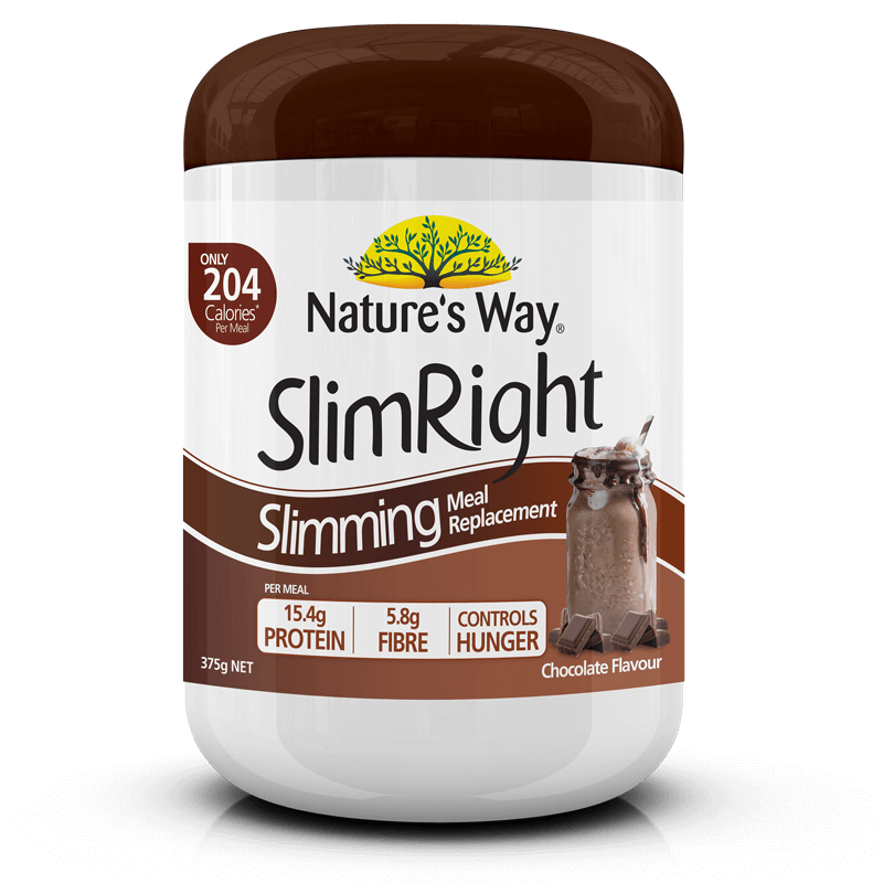SlimRight Slimming Meal Replacement  Chocolate 375g