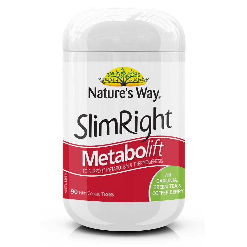 NATURE'S WAY SLIMRIGHT METABOLIFT TABS 90s