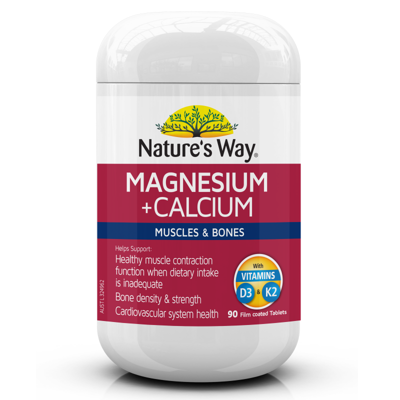 Nature's Way Magnesium + Calcium 90s