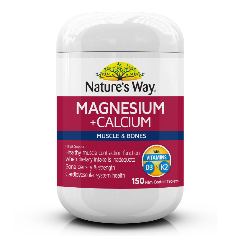 Nature's Way Magnesium + Calcium 150s