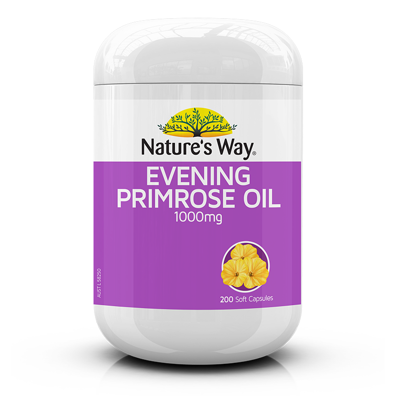 Nature's Way Evening Primrose Oil 1000mg 200s