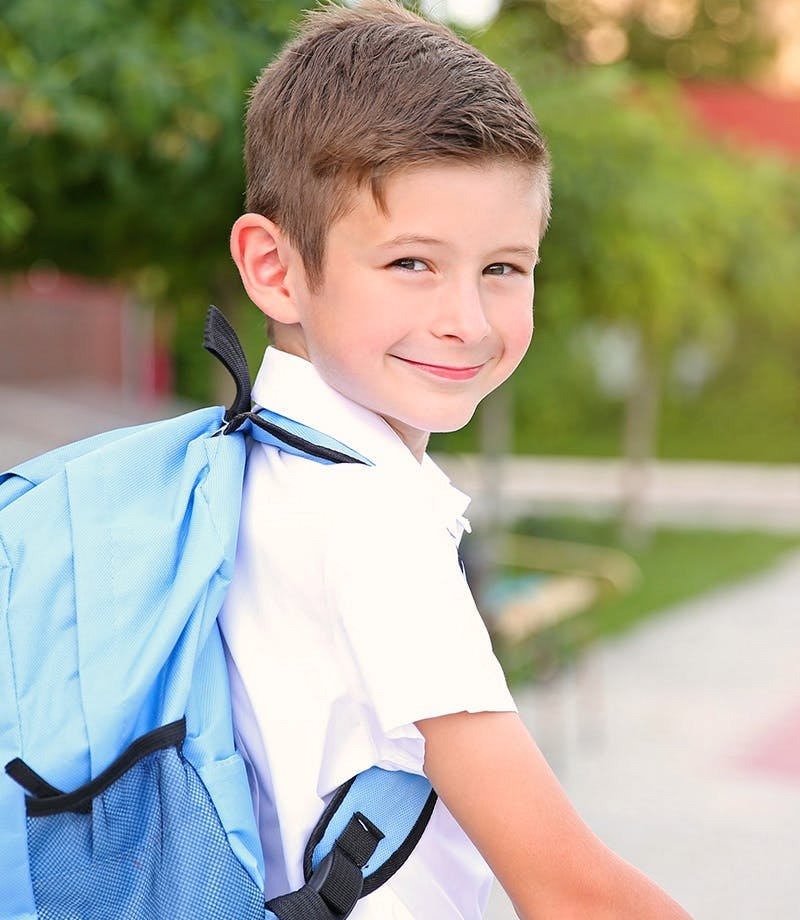 Walking to school could benefit healthy children